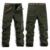 Los hombres De Carga Pantalones de Invierno Gruesos pantalones de Cachemir Cálido Pantalones de Longitud Completa Multi Pocket Casual Holgados Militares Tácticos Pantalones Más El tamaño 40