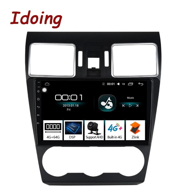 """Idoing 9 """"車 Android8.1 ラジオ GPS マルチメディアプレーヤー IPS 2.5D スバルフォレスター 2016 2018 4 グラム + 64 グラム 8 コアナビゲーション Zlink no dvd  グループ上の 自動車 &バイク からの 車用マルチメディアプレーヤー の中 1"""