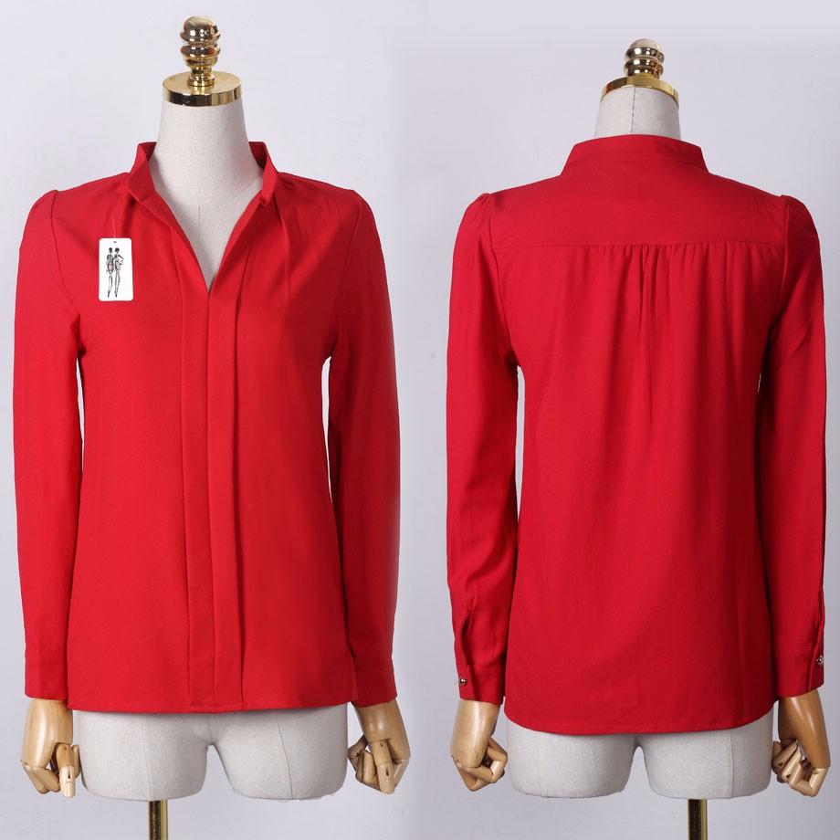 HTB1f4PLOXXXXXc9XXXXq6xXFXXXk - Long Sleeve Elegant Ladies Office Shirts Fashion Casual Slim Women