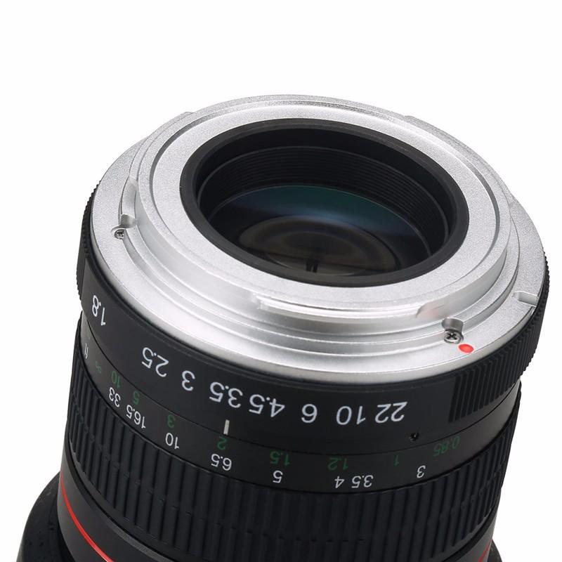 Lightdow 85mm F1.8-F22 Manual Focus Portrait Lens Camera Lens for Canon EOS 550D 600D 700D 5D 6D 7D 60D DSLR Cameras 7
