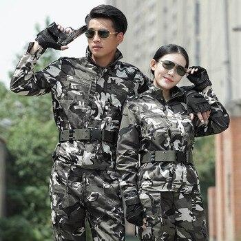 Uniforme Militar, Uniforme táctico gris, ropa de camuflaje para hombres y mujeres, Uniforme táctico del ejército, ropa de cazador de combate, ropa Militar para hombres