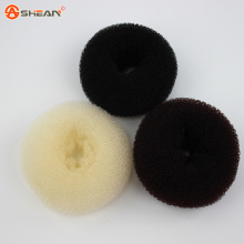 3 Colors Hair Accessories New Womens Girls Hair Donut Bun Ring Shaper Styler Maker Brown Black Beige Selectable