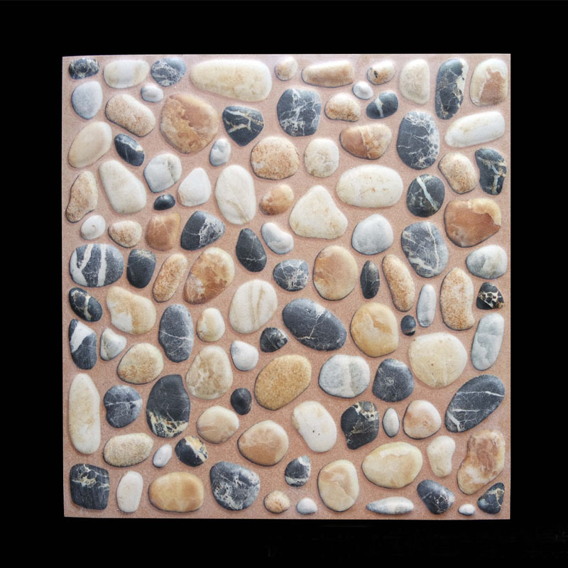 12x12 Outdoor Pebble Relief Rustic Brick Balcony Kitchen Non Slip Wear Resistant Tiles 30m2 On Aliexpress