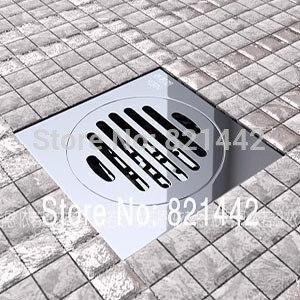 2015 salle de bains Drain en laiton crépine Banheiro Daines livraison gratuite + salle de bains Productscopper plancher Drain odeur ravageur épais filtre