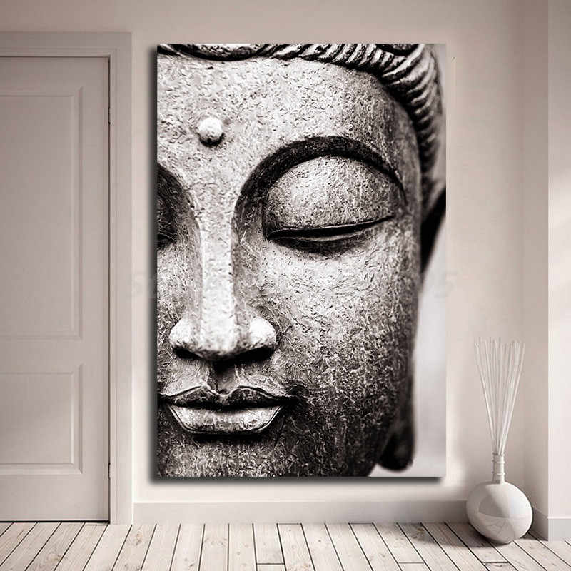 Lord Buddha Hd Wallpapers Wall Art Canvas Poster And Print Canvas Painting Decorative Picture For Modern Living Room Home Decor Aliexpress