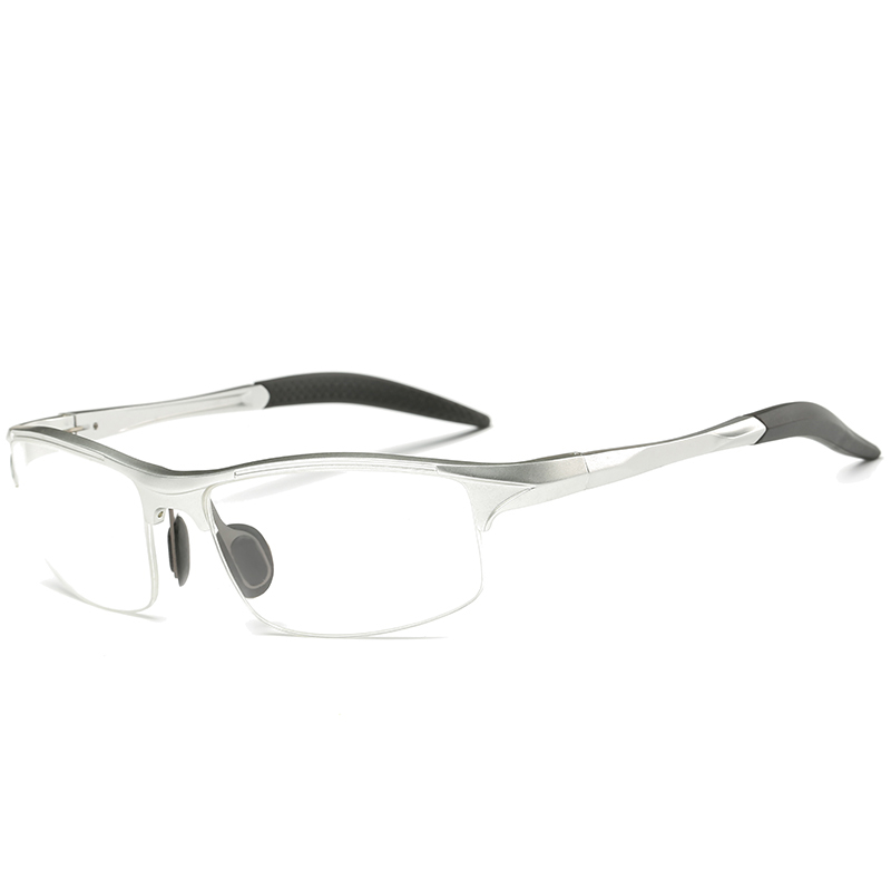 LUFF The New Aluminum Magnesium Eyewear Frame Men Riding Windshield Glasses  Can Be Equipped with Myopia Glasses SN8177-in Eyewear Frames from Men\'s ...