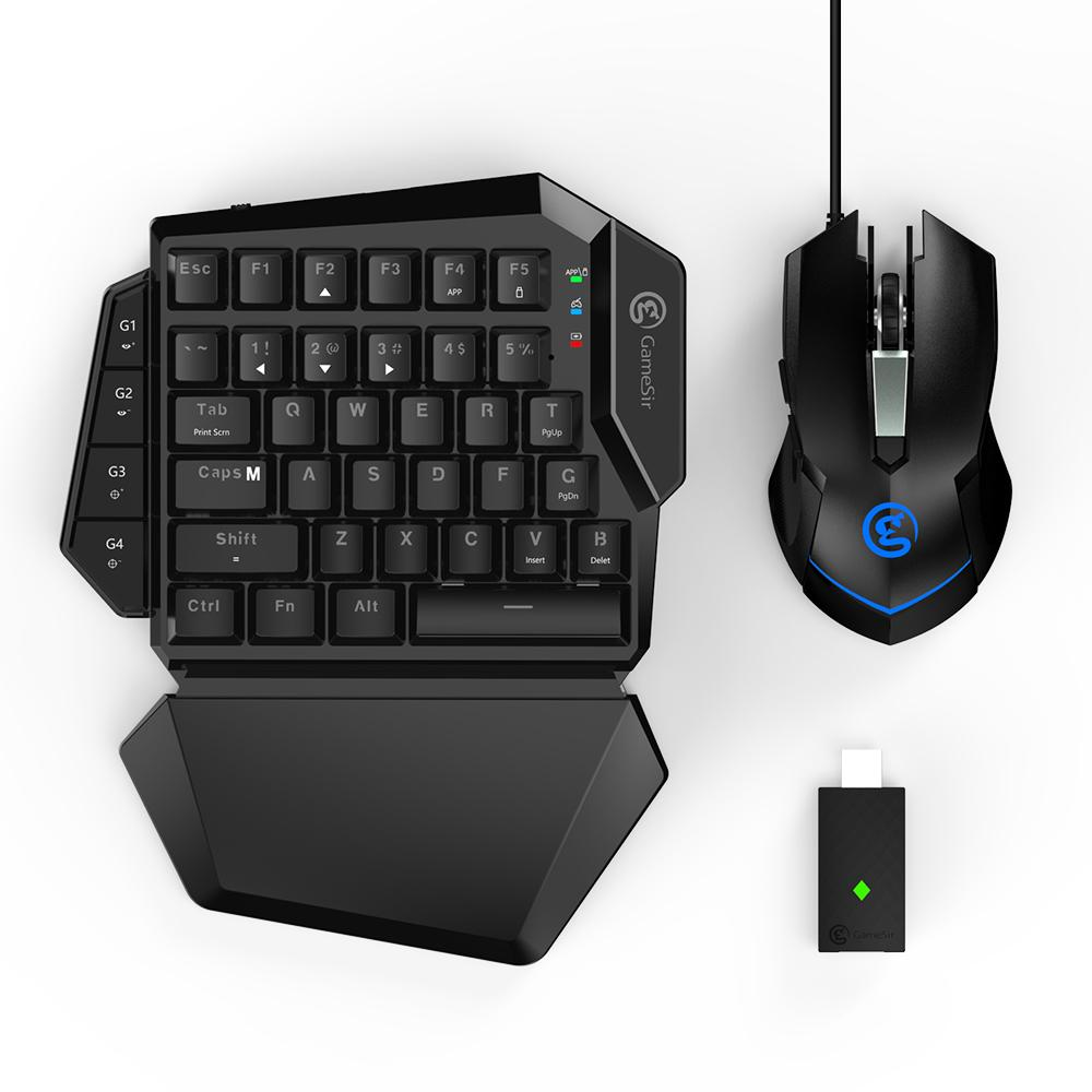 GameSir VX AimSwitch Sans Fil Clavier Réglable DPI Souris Combo Pour Consoles Jouer FPS Jeux Pour PS4/PS3/Xbox un/Commutateur/PC