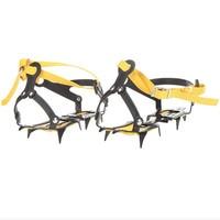 Strap Type Crampons Ski Belt High Altitude Hiking Slip Resistant 10 Crampon Ice Gripper For Winter
