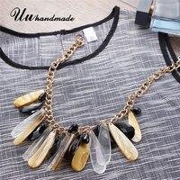 Déclaration collier vintage bijoux maxi collier de foulard colar collares boho colliers et pendentifs sieraden femmes accessoires 2017
