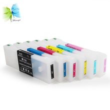 Winnerjet 6 pcs/lot T7101-T7106 refill empty ink cartridge with chip for Epson surelab d3000 inkjet