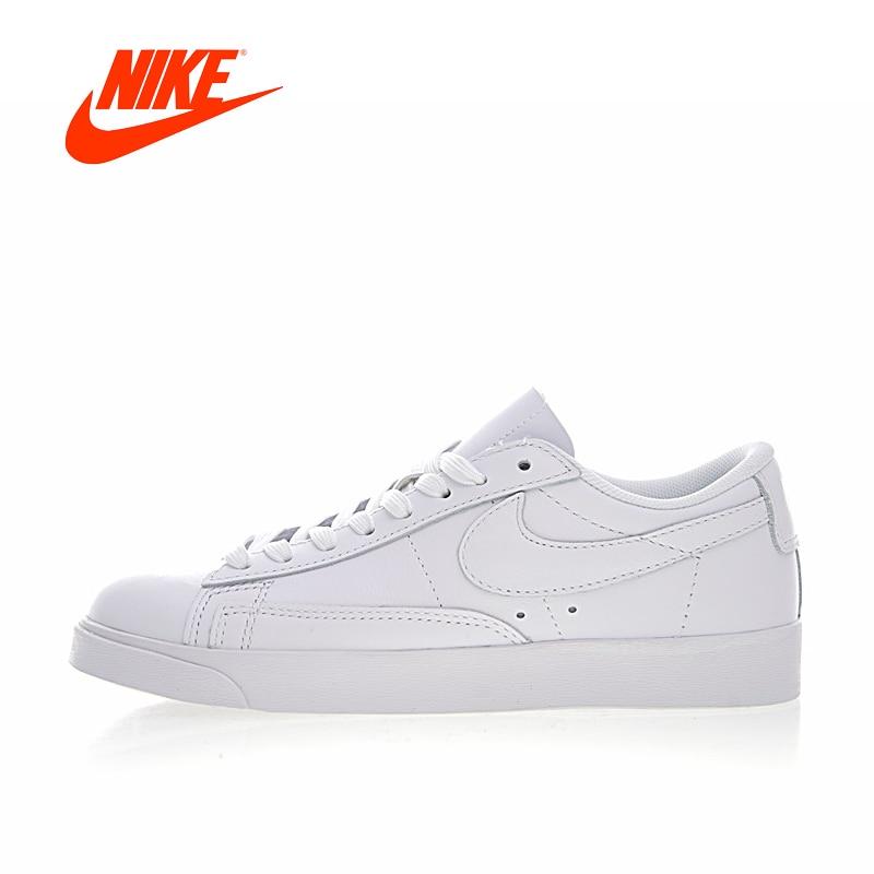 Original New Arrival Authentic Nike Blazer Low Premium Women's Breathable Skateboarding Shoes Sneakers Good Quality AA3961-104 original new arrival 2018 nike blazer low lthr men s skateboarding shoes sneakers