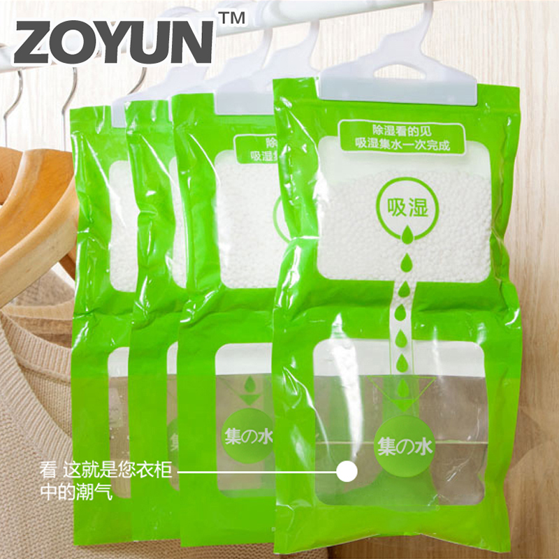 Closet Dehumidifier Bags Moisture Absorber Hanging Wardrobe Hygroscopic Anti-mold Desiccant Drying Agent Household Chemicals