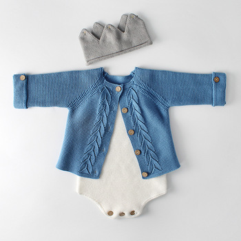Baby and Toddler Knitted Cardigan – Add the Matching Knitted Romper
