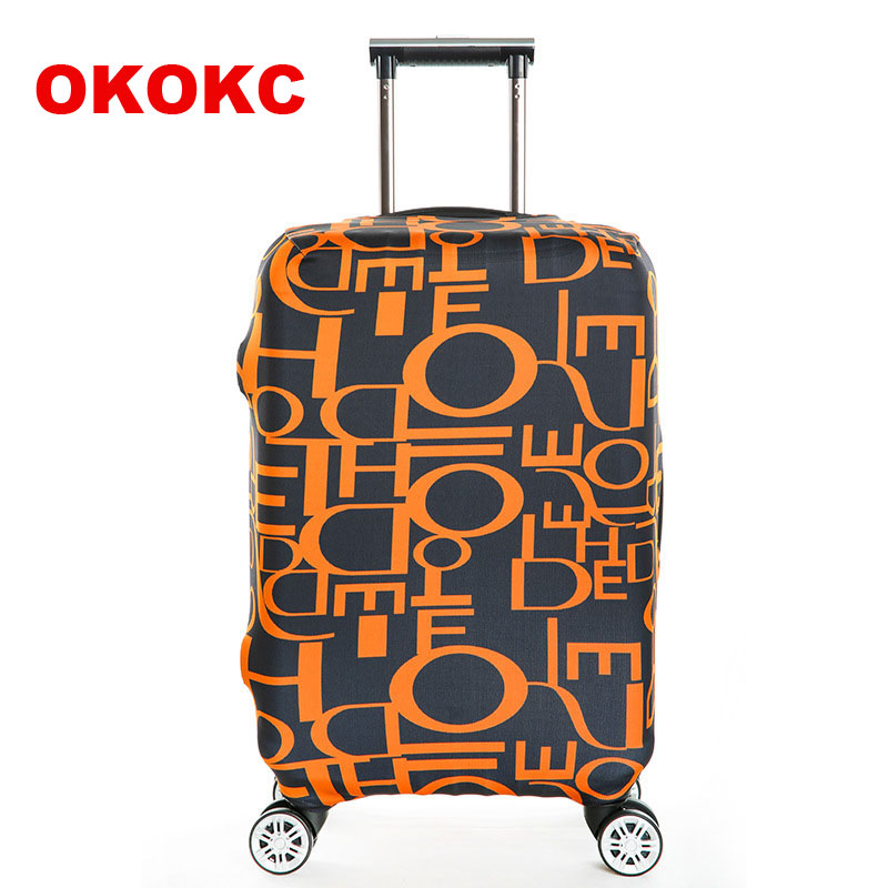 OKOKC Travel Luggage Suitcase Protective Cover, Stretch, made for S/M/L/XL, Apply to 18-32inch Cases, Suitcase Covers