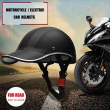 Nuovo Arrivo Mortorcycle Mezza Viso Casco Protettivo Unisex Adulto Moto/Bici/Della Bicicletta del Casco Del Casco Mezzo Aperto Viso ABS Helmes VL