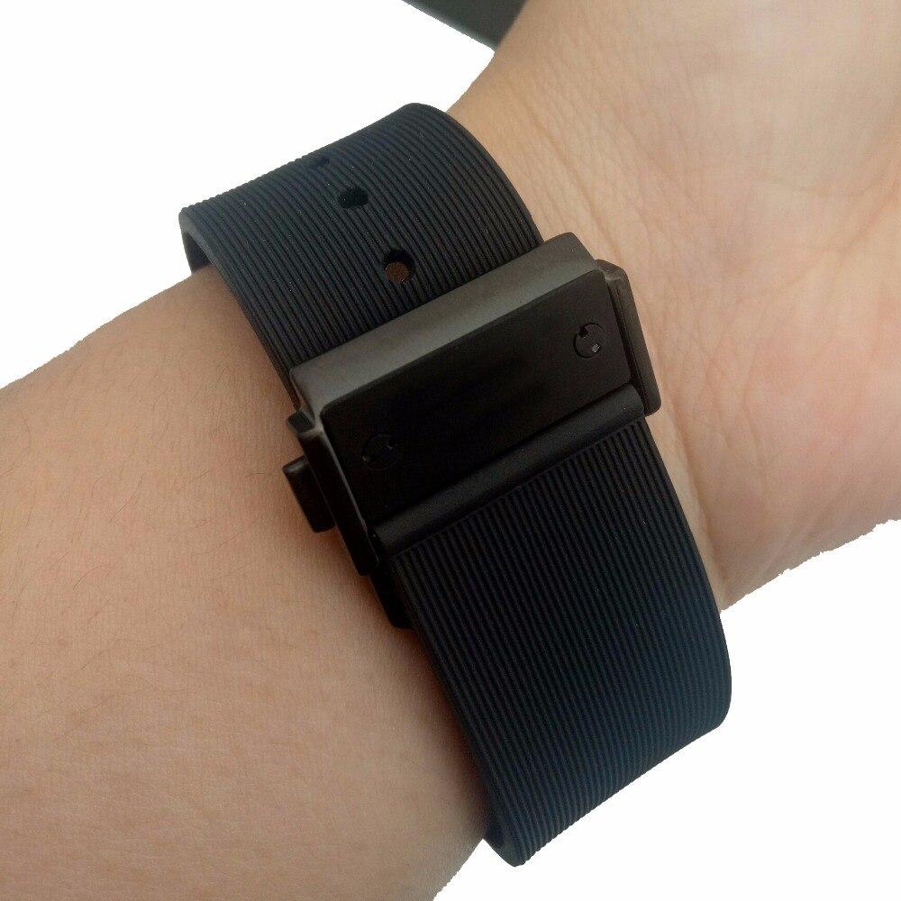 9eea3d35b12 Assista acessórios 25 19mm faixa de Relógio de Silicone Alça Para cinto Relógio  Hublot para