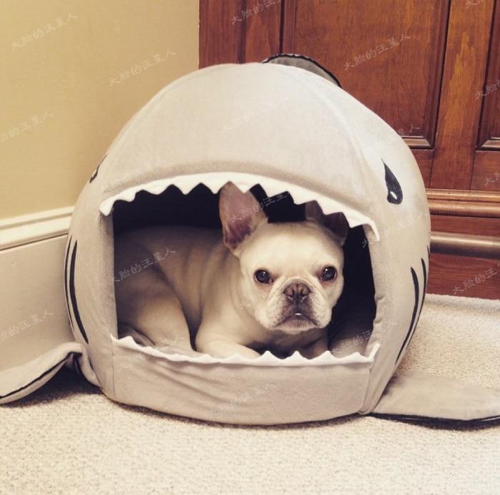 Shape of Shark Cat House  Dog Beds/Mats Warm House Winter Pet  Dog Round House Puppy Dog Bed Pet Bed Mat Pet Nest Chihuahua PH31 girl