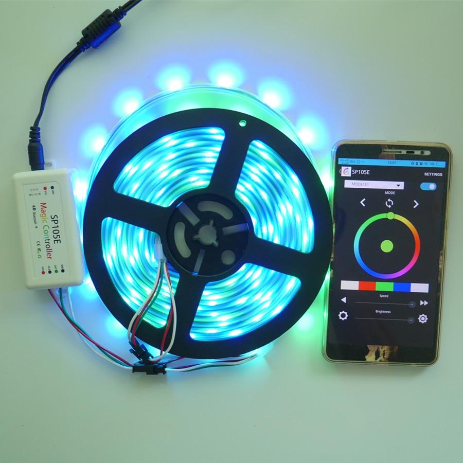 Նոր Bluetooth SPI LED կարգավորիչ SP105E տարբեր - Լուսավորության պարագաներ - Լուսանկար 2