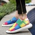 2016 Nueva Llegada Yohji 3 Sandalias Zapatos SANDALIAS de Interior KAOHE Hombres Hombres de Cuero Sandalias de Playa de Moda Zapatillas de punta Abierta