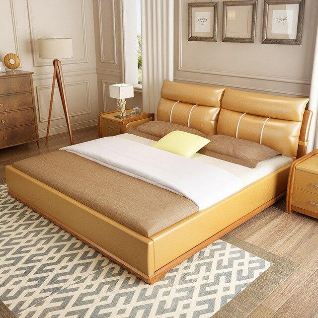 1,8 mt Doppelbett Tatami Zimmer Master Bett Schlafzimmer Einfache ...
