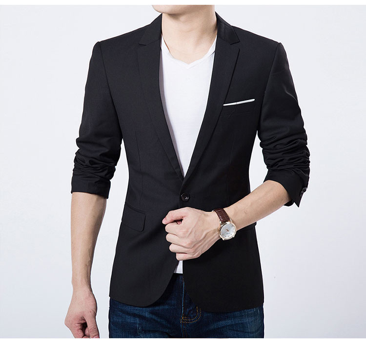 Men Blazer New Suit Men Casual Jacket Terno Masculino Latest Coat Designs Blazers Men Clothing Plus Size S 5XL