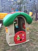 Экспортированы в Мьянме Экологичные детский сад Пластик играть дома Пластик Детские площадки ce сертифицировано hz 70214g