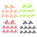 10Pair 4045 Propeller 3-Leaf 3-Blade Prop/Propeller Three Blade MINI Quadcopter Propellers Promotion  for 150 170 Quadcopter