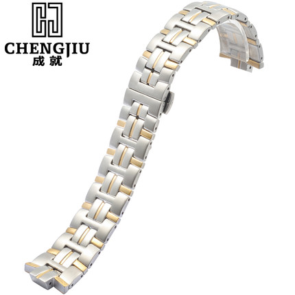 20mm Watch Strap For Titoni For 83930 For SY-271 Metal Steel Watch Band Bracelets Watchbands Hours Belt 2 Fold Clasp Horlogeband titoni часы titoni 23730 s 271 коллекция impetus