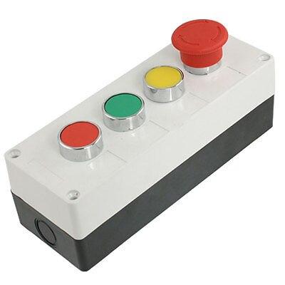 Ui 660 V Ith 10A желтая зеленая красная кнопка с самовозвратом блок переключателей