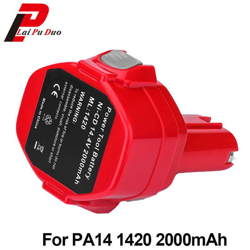 Hot!!! Brand new 2.0Ah 14.4V NI-CD power tool Rechargeable battery for Makita :1434,1435,1051DWD,193158-3,4033DZ,6228DW,5630DWD for bosch 24v 3000mah power tool battery ni cd 52324b baccs24v gbh 24v gbh24vf gcm24v gkg24v gks24v gli24v gmc24v gsa24v gsa24ve