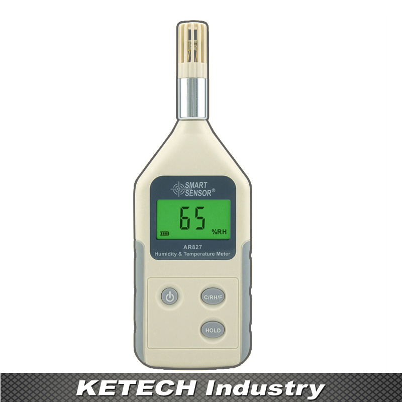 AR827 Digital Thermometer Hygrometer Humidity Temperature Meter ht 86 digital thermometer hygrometer wet bulb dew point temperature meter o0s0