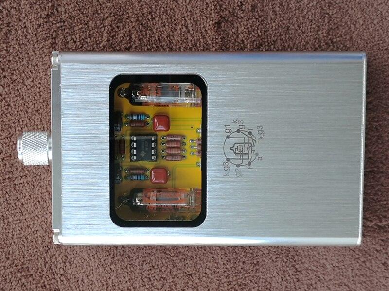 Мощный портативный двойной Электронный ламповый усилитель для наушников, мини усилитель для мобильного телефона, музыкальная гарнитура, у... - 2