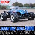 1/12 carros RC 4WD elétrica eixo de caminhões de alta velocidade do controle de rádio, Rc caminhão, 3 cores, Rc carro Off Road