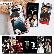 Lavaza Anime Manga Death Note Design Silicone Case for Samsung S6 Edge S7 S8 Plus S9 S10 S10e Note 8 9 10 M10 M20 M30 M40 death note anime character figures 8 piece set