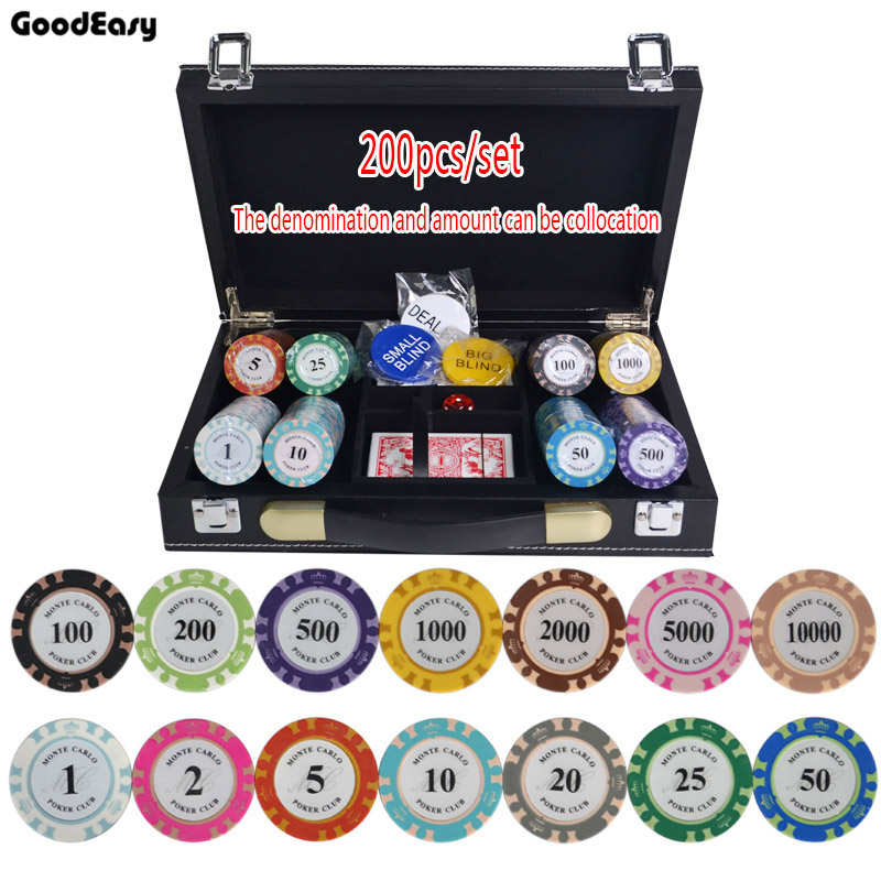 crown poker chip clay casino chips texas - Poker Sets