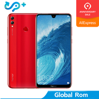 Global Rom Huawei Honor 8X Max 7.12 inch CellPhone 6G 64GB 4900mAh Fingerprint ID Battery Android 8.2 16MP Camera 2160*1080