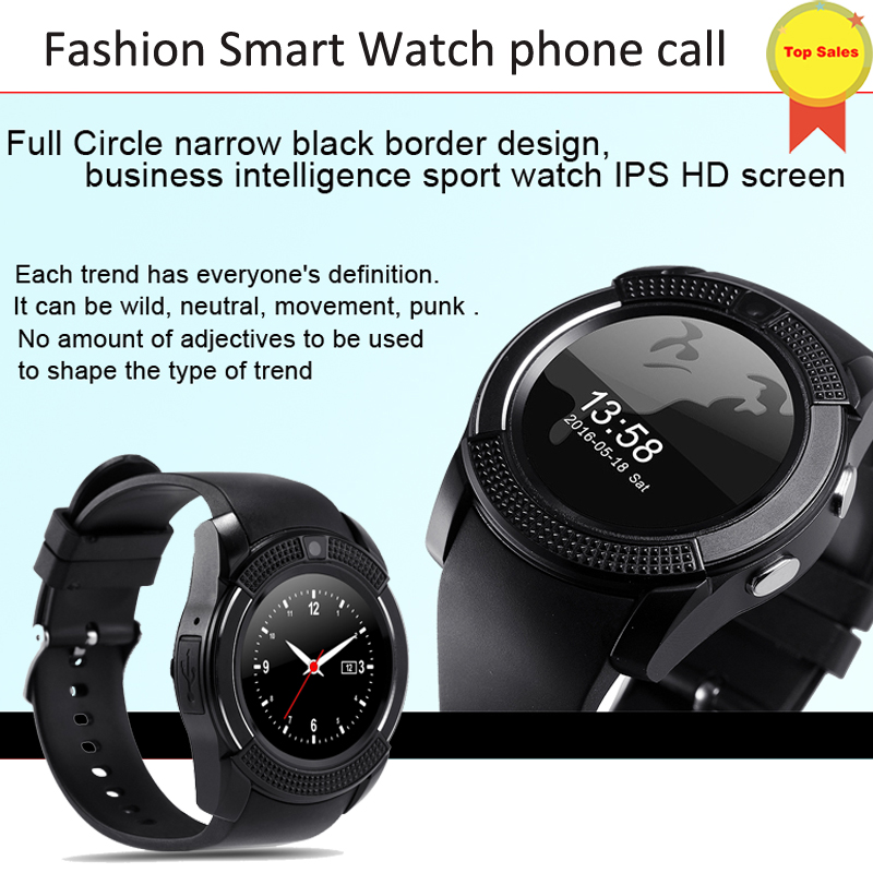 high quality 2G watches Men Bluetooth Sport Watch Women Lady Relgio Smartwatch Camera Sim Card Slot Android Phone PK DZ09 Y1 A1
