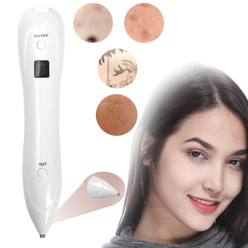 Laser Freckle Removal Machine Skin Mole Removal Dark Spot Remover for Face  Tattoo Removal Pen Home Beauty Care With a Monitor массажер аппарат iluminage beauty аппарат для лазерного омоложения кожи iluminage skin laser
