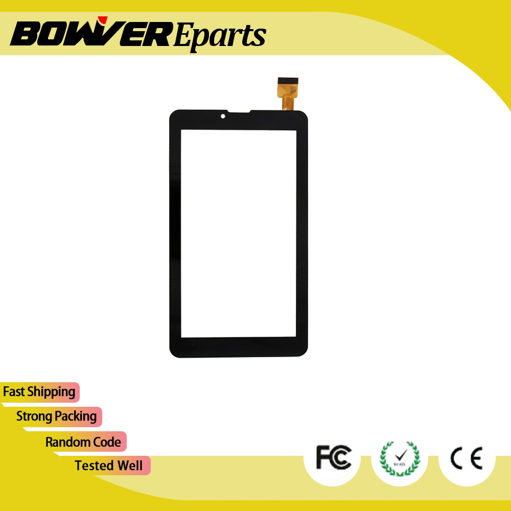$ A+ Plastic film 7 Inch Touch Screen for Supra M625G M722G M723G M725G M727G Glass Panel Sensor Digitizer Replacement 186*104mm new 7 inch black white touch screen for supra m625g m722g m723g m725g m727g glass panel sensor digitizer replacement 186 104mm