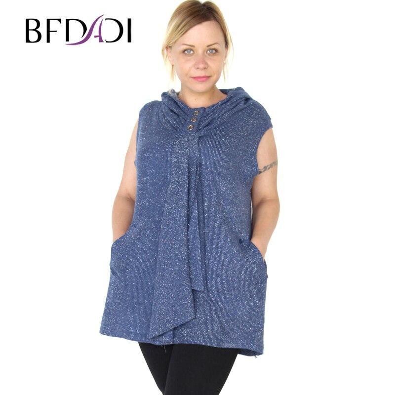 3e864c64ecf BFDADI 2016 модная 3 цветов свободного покроя сплошная женская футболка без  рукавов новые поступление топы блузка осенняя и зимная рубашка 3325