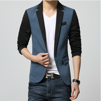 Super cheap ! 2015 New Arrival Men's Casual Suit Jacket Slim Stylish fit One Button Men Suit Blazer Coat Fashion Jackets