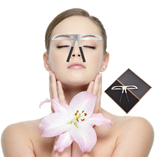 Eyebrow Ruler Stencil Stainless Steel Microblading Permanent Makeup Measure Shaping Balance DIY Template Beauty Tools
