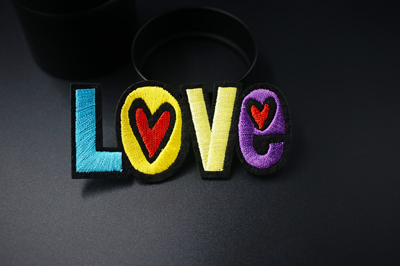 HTB1f4YHtuGSBuNjSspbq6AiipXaS LOVE OOPS POW HEY Mend Patch Badges Embroidered Applique Sewing Clothes Stickers Garment Apparel Accessories Patches Badge
