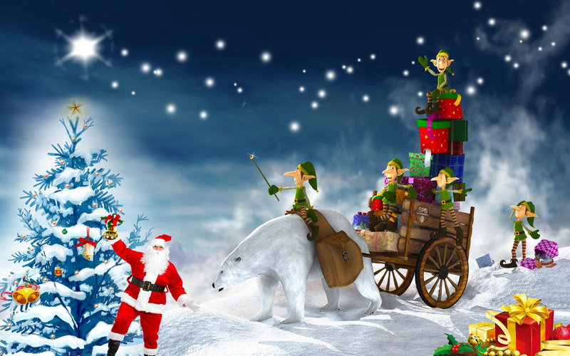 12X8ft  thin vinyl photography  backgrounds Computer Printed children Christmas Photography backdrops for Photo studio