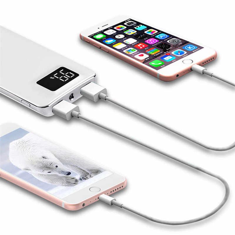 ريال قوة البنك 30000 mAh ل شياو mi mi 2 USB شاحن محمول متنقل بطارية خارجية Poverbank ل فون 7 6 5 4X8