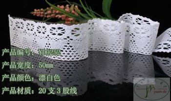 5.0cm cotton lace trim,Christmas DIY crafts,DIY clothing accessories,instinctive quality cotton lace,lace manufacturer