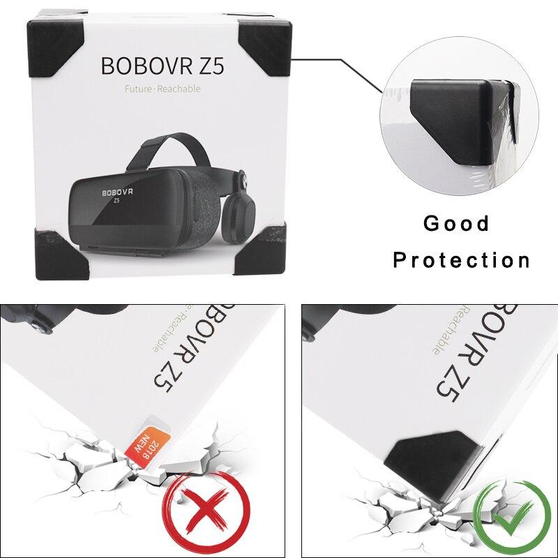 Original BOBOVR Z4 Update Z5 VR 3D Box Helmet Virtual Reality Glasses Smartphone VR Headset for Android 4.7-6.2''In Mobile Phone 2