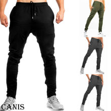 New Running Pants Men Sport Fitness Joggers Run Jogging Sportswear Sweatpants Training Trousers 2019 Hot Sale