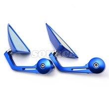 7/8″ Accessories Motorcycle Rearview Mirror Round Handle Bar End Mirror Rear Side Mirro for SUZUKI LTZ400/45006-09