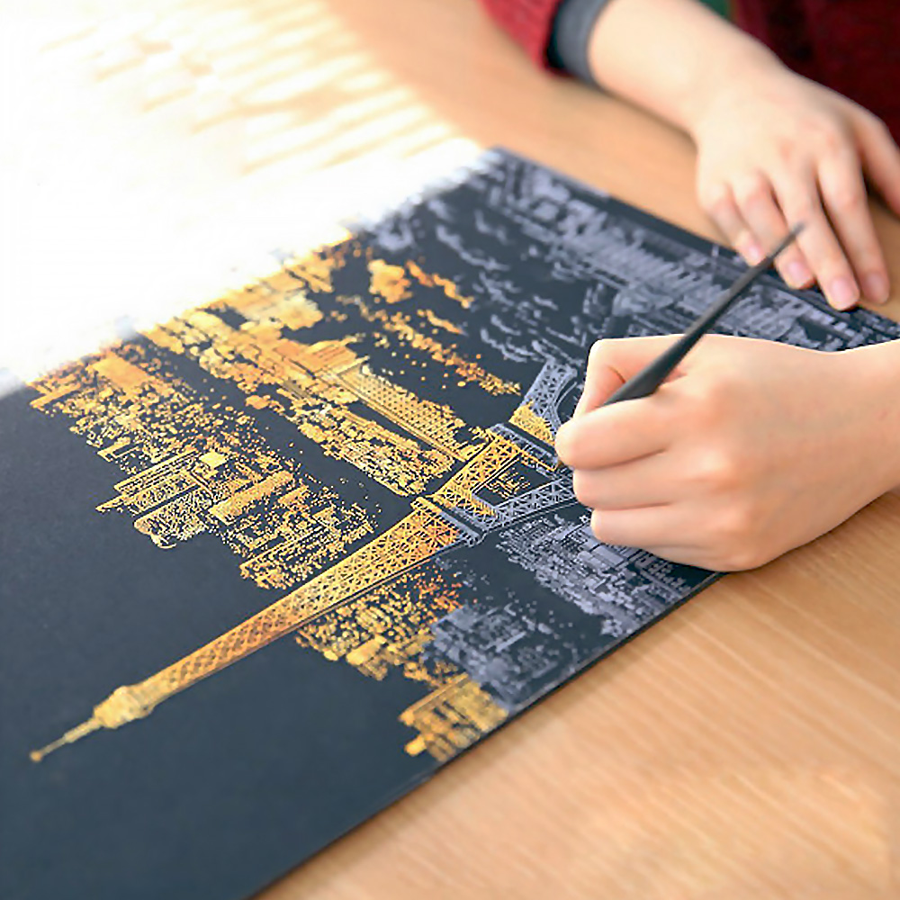 Image result for scratch painting kit